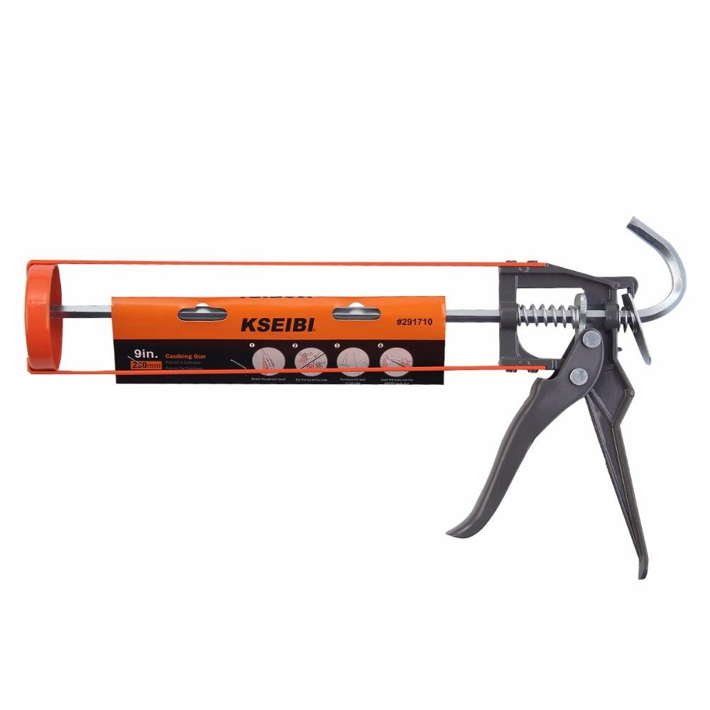 Glass Tools Save Pressure Industrial Glue Caulking Gun Cartridge Sealant 360 Degree Rotatable Durable Construction Tools