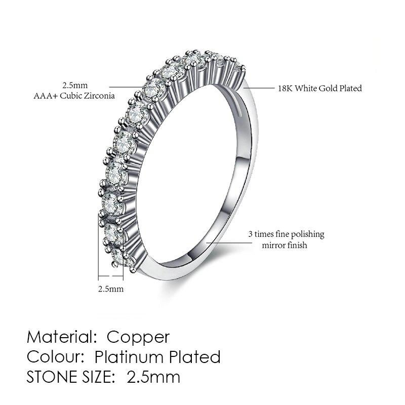 ZHOUYANG кольцо для женщин, простой стиль, кубический цирконий, свадебное кольцо, светильник, золотой цвет, модное ювелирное изделие KBR103 - Цвет основного камня: R589