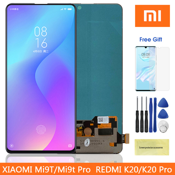 "6.39"" Super Amoled Mi 9T Pro LCD For Redmi K20 Pro Lcd Display Touch Screen Digitizer Parts For Xiaomi9T MI9T Pro Redmi K20 Lcd"