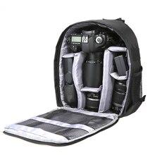 في الهواء الطلق DSLR كاميرا رقمية حقيبة الظهر متعددة الوظائف تنفس أكياس الكاميرا مقاوم للماء صور حقيبة حافظة لنيكون كانون سوني