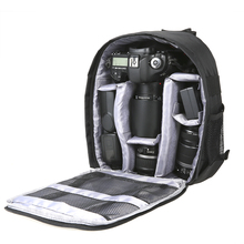 Outdoor DSLR Digital Camera Bag Backpack Multi functional Breathable Camera Bags Waterproof Photo Bag Case for Nikon Canon Sony