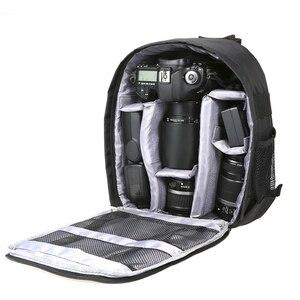 Image 1 - Outdoor Dslr Digitale Camera Tas Rugzak Multifunctionele Ademend Camera Tassen Waterdichte Photo Bag Case Voor Nikon Canon Sony