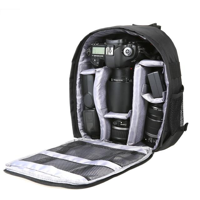 Outdoor Dslr Digitale Camera Tas Rugzak Multifunctionele Ademend Camera Tassen Waterdichte Photo Bag Case Voor Nikon Canon Sony