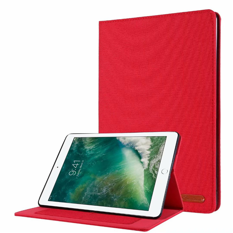 01 Red Gold Cover For iPad 10 2 2019 Luxury Leather Case For iPad 10 2 7 7th Generation