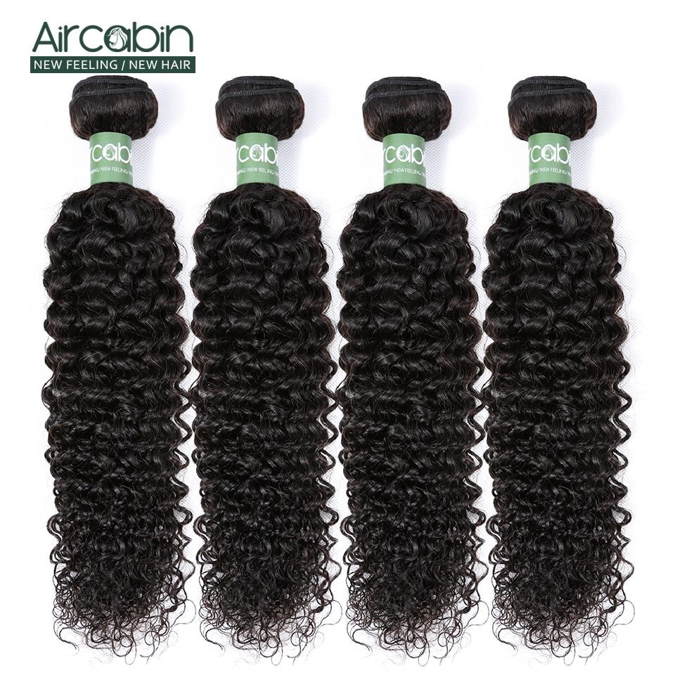 Peruano Kinky Curly Hair Extension 100% Remy Do Cabelo Humano weave Bundles Textura Aircabin Natureza Cor Do Cabelo Pode Ser Tingido