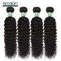 Extensión de pelo rizado peruano 100% mechones de cabello humano postizo Aircabin Color natural cabello se puede teñir textura