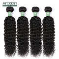 Peruano kinky encaracolado extensão do cabelo 100% remy feixes de tecer cabelo humano aircabin natureza cor do cabelo pode ser tingido textura