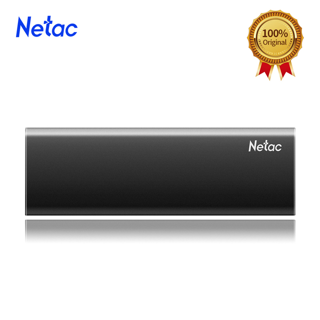 Netac ZSlim Portable External SSD 1TB 500GB 250GB SSD Hard Drive HDD Solid State Drive Type-c USB 3.1 Compatible for Laptop PC 3