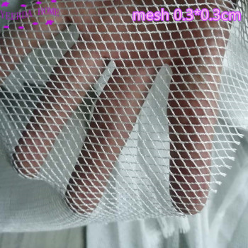 white no knot net Semi-finished fish net trawl net Accessories Barrage net tool Breeding network Home and icrop solation network