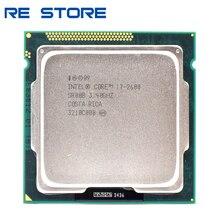 معالج Intel Core i7 2600 3.4GHz رباعي النواة مستعمل 8MB 5GT/s SR00B LGA 1155 cpu