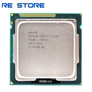 used Intel Core i7 2600 3.4GHz Quad Core Processor 8MB 5GT/s SR00B LGA 1155 cpu
