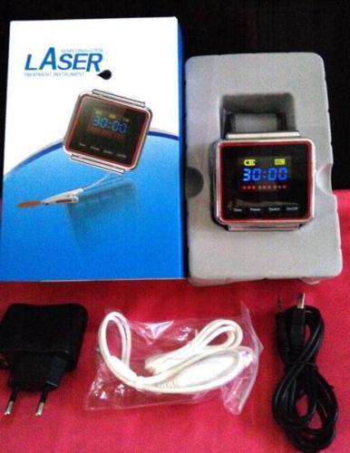 Laserowa akupunktura zdrowie zegarek maszyna do fizjoterapii do wysokiego ciśnienia krwi i laserowego zegarka sercowo-naczyniowego