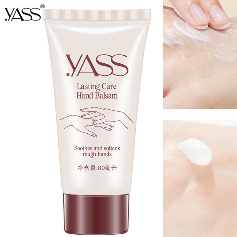 YASS Plant Glycerin Hand Creams Whitening Moisturizing Rose Hand Lotions Nourishing Anti-Aging Hand Feet Care Cream For Unisex