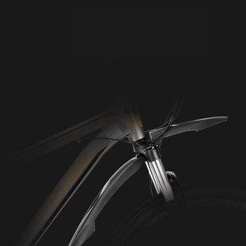2 PCS Anteriore Posteriore Della Bicicletta parafango MTB Della Bici Parafango 24 26 27.5 29 pollici del Rilascio Rapido Della Bici Ali Allunga durevole Ruota Parafanghi