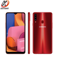 New Samsung Galaxy A20s A207F DS Mobile Phone 6.5 3GB RAM 32GB ROM Octa Core Triple Rear Camera 13.0MP+8.0MP+5.0MP Fingerprint