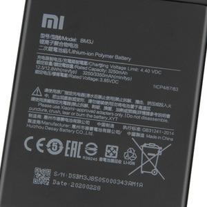 Image 5 - Xiao Mi Original Ersatz Telefon Batterie BM3J Für Xiaomi 8 Lite MI8 Lite Authentische Akku 3350mAh