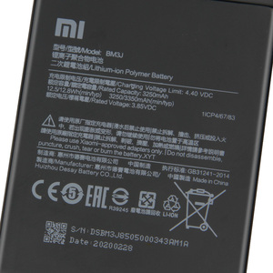 Image 5 - Xiao Mi Original Replacement Phone Battery BM3J For Xiaomi 8 Lite MI8 Lite Authentic Rechargeable Battery 3350mAh