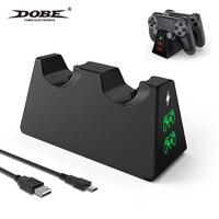 Dual Controller Ladegerät Gamepad Ladestation Für Sony Playstation 4/Pro/Dünne Schnelle Ladestation Für PS4 Controller ladegerät