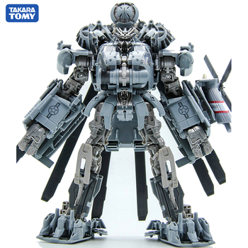 TAKARA TOMY Transformation SS08 CAR Metal Part  25CM BLACKOUT Autobots Action Figure Deformation Robot Children Gift Toys the autobots deformation toys king kong police series red alert toy ambulance to toys for children