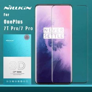 Стекло Nillkin для OnePlus 7T Pro 7 Pro, защитное стекло 3D CP + Max с полным покрытием, закаленное стекло для OnePlus 7TPro, стекло Nilkin, пленка