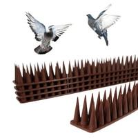 2020 New Plastic Bird and Pigeon Spikes Anti Bird Anti Pigeon Spike for Get Rid of Pigeons and Scare Birds Pest Control
