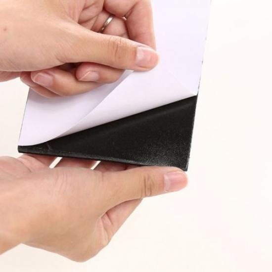 Self Adhesive Felt Pads Black Sticky Tabs Wood Floor Scratch Furniture Protector