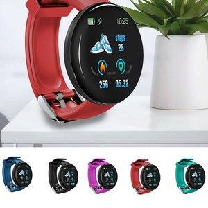 Image 2 - D18 ciśnienia krwi tętno Smartwatch kolorowy ekran inteligentny zegarek fitness smart watch IP65 wodoodporna bransoletka