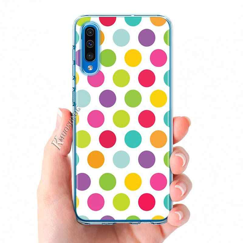 Áo Chấm Bi Phong Cách Dành Cho Samsung Galaxy Samsung Galaxy A90 A80 A70S A60S A50 A50S A40 A30S A20E A2Core A10 Ốp Lưng Điện Thoại