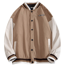 New Mens Baseball Clothing Jacket Embroidery Craft Coat Ins Style Fashion Trend New Fall Loose Coat -40