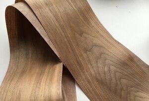 Image 5 - מותאם אישית טבעי אמיתי שחור אגוז עץ פורניר עבור ריהוט סטריאו 0.2mm כדי 0.5mm C/C
