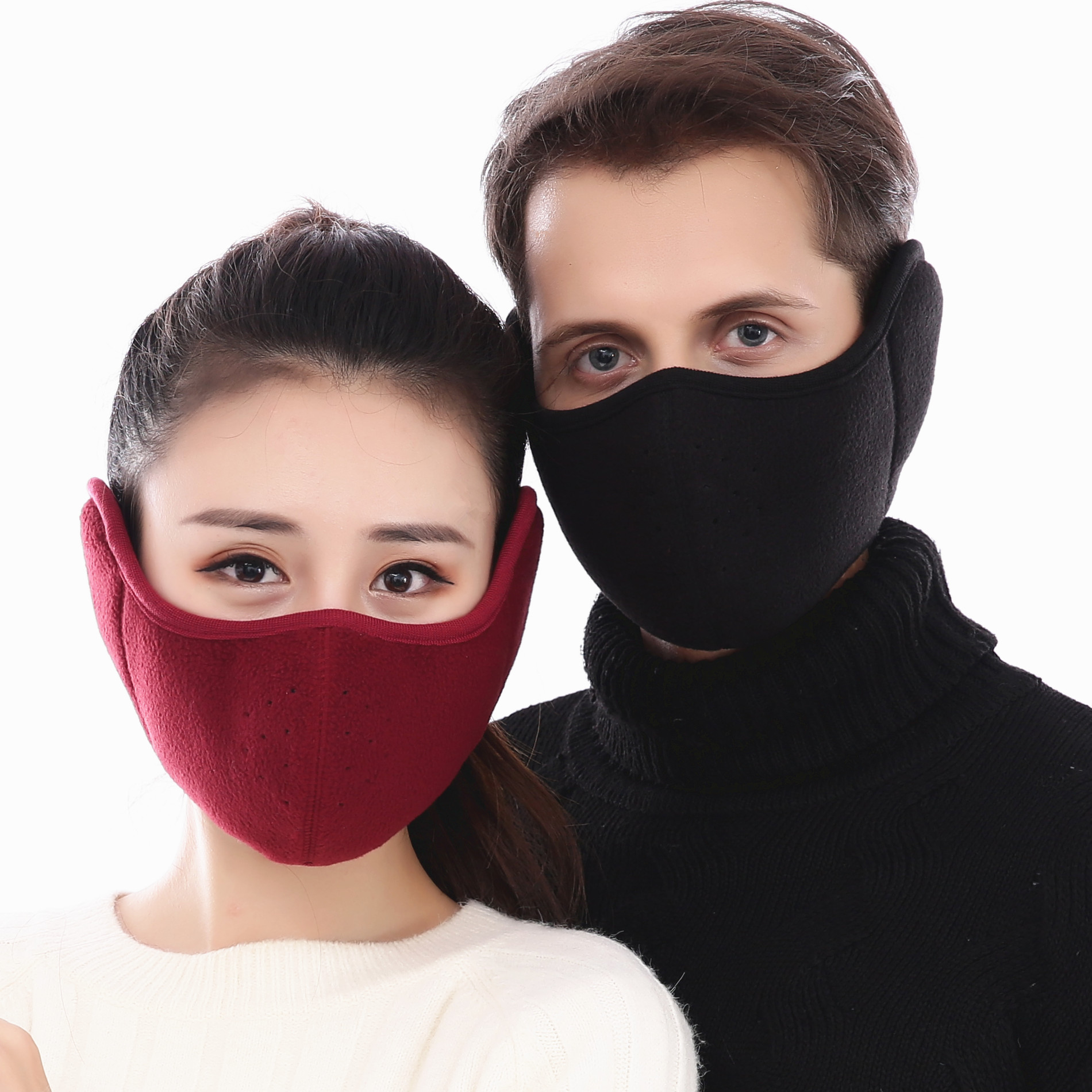 Cycling Masks Ear Protect Windproof Winter Unisex Breathable Mask Ski Sports Outdoor Winter Guard Warm Mask