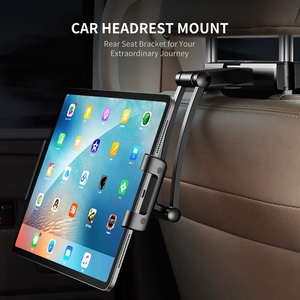 Image 5 - ROCK Universal Holder For Tablet PC Auto Car Back Seat Headrest Mounting Holder Tablet For 4.7 10.5 Inch For iPad Xiaomi Samsung