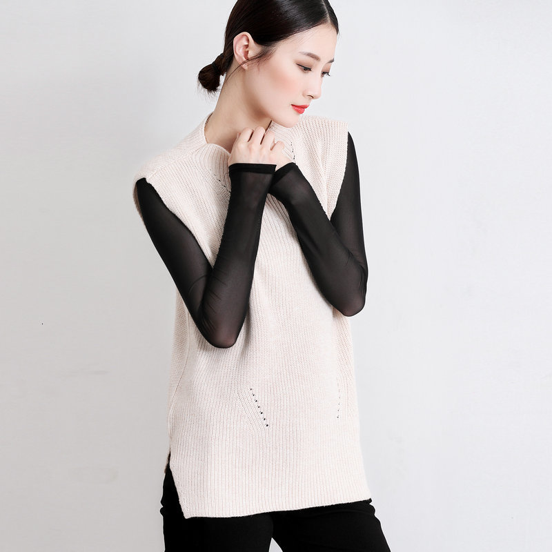 New Sleeveless Vest Loose Sweater Decoration In Autumn And Winter