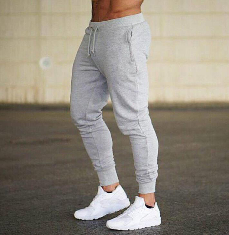 New Jogging Pants Men Sport Sweatpants Running Pants Pants Men Joggers Cotton Trackpants Slim Fit Pants Bodybuilding Trouser