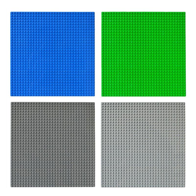 32*32 Dots Classic Base Plates Bricks Legoed City Baseplate Board Compatible Bricks Figures Building Blocks Toys For Children