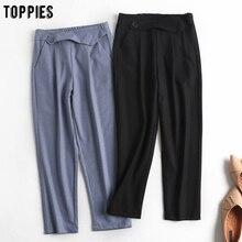 toppies womens suit pants high waist harem pants