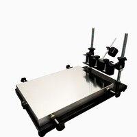 1pcs única cor máquina de impressão da tela da tela da impressora T shirt impressão plana imprensa área de impressão 320*440 MILÍMETROS|printing press -