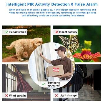 2MP Security Solar Camera Power Outdoor Waterproof Wifi IP Camera Night Vision Surveillance CCTV Camera Video Recorder 32G Card 6