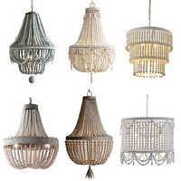 UMEILUCE Vintage Kronleuchter Lichter Hängen Leuchte Holz für Esszimmer Wohnzimmer Bett Zimmer Cafés geschäfte Hotel Land Stil Beleuchtung
