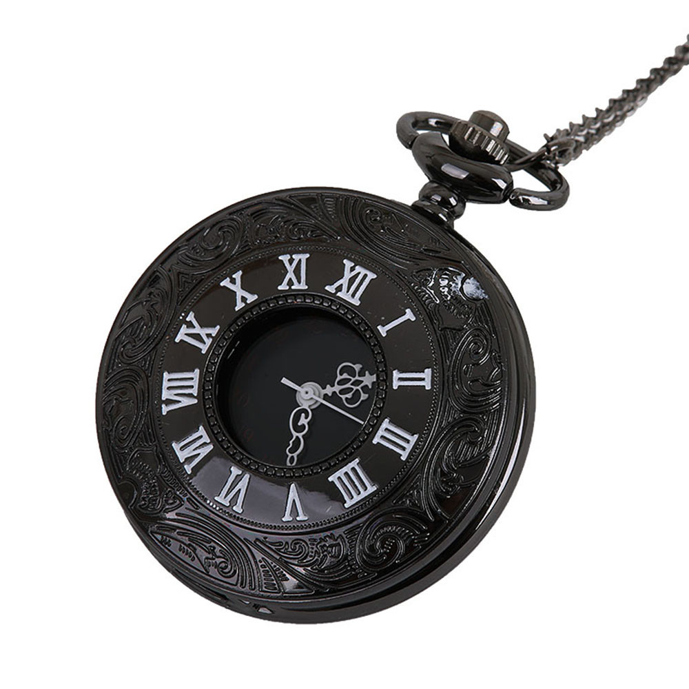 Classic Vintage Chain Retro The Greatest Pocket Watch Necklace For Grandpa Dad Gifts Man Woman Necklace Clock Jewelry Gift Q