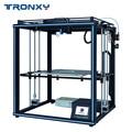 Tronxy 2019 yükseltilmiş X5SA 24V güç kaynağı 3d yazıcı tam metal CoreXY DIY kitleri 24V ısı masa 330 * 330mm otomatik seviye 3d baskı