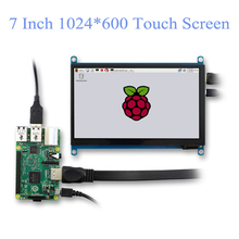 Touch-Screen-Panel Monitor Display Capacitive Raspberry HDMI 1024x600 LCD DIY IPS Portable