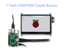 7 Inch Touch Screen Panel IPS hdmi raspberry display LCD DIY Monitor kapazitive Touch HDMI Display 1024x600 Tragbare HD Display