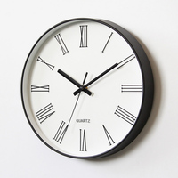 Creative Wall Clock Living Room Home Decoration Accessories Fashion Hanging Wall Watches 12 Inch Dining Decor Clock