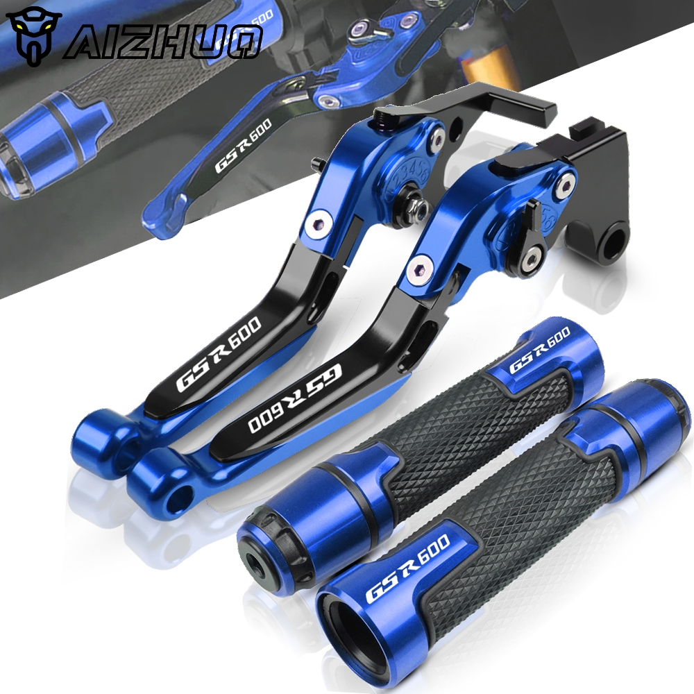 Motorcycle Accessories Folding Brakes Clutch Levers Handle Grips End For <font><b>SUZUKI</b></font> <font><b>GSR</b></font> <font><b>600</b></font> GSR600 2006-2011 2010 2009 <font><b>2008</b></font> 2007 image