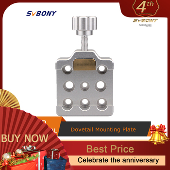 SvBony Dovetail Clamp Fully Metal Middle Size for Astronomy Telescopes w/Brass Screws Dropshipping F9144 - discount item  35% OFF Camping & Hiking