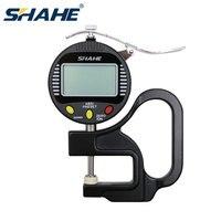 Shahe 0.001Mm 10Mm Digitale Diktemeter Digitale Paquimetro Digitale Inox Metalen Dikte Meting Digitale Voeler