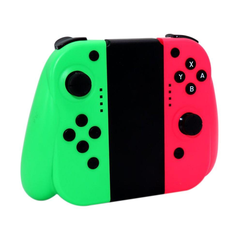 Bezprzewodowy kontroler gier z bluetooth dla nintendo przełącznik w lewo w prawo radość uchwyt con kontroler go gier gamepad dla nintendo przełącznik