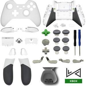 Image 3 - Запасные части для XBOX ONE Elite Gamepad, Корпус Корпуса, передняя крышка, чехол LB RB, бампер, ручки, триггер RT/LT