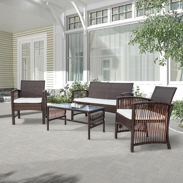 4 in 1 Garden Patio Furniture Set 1
